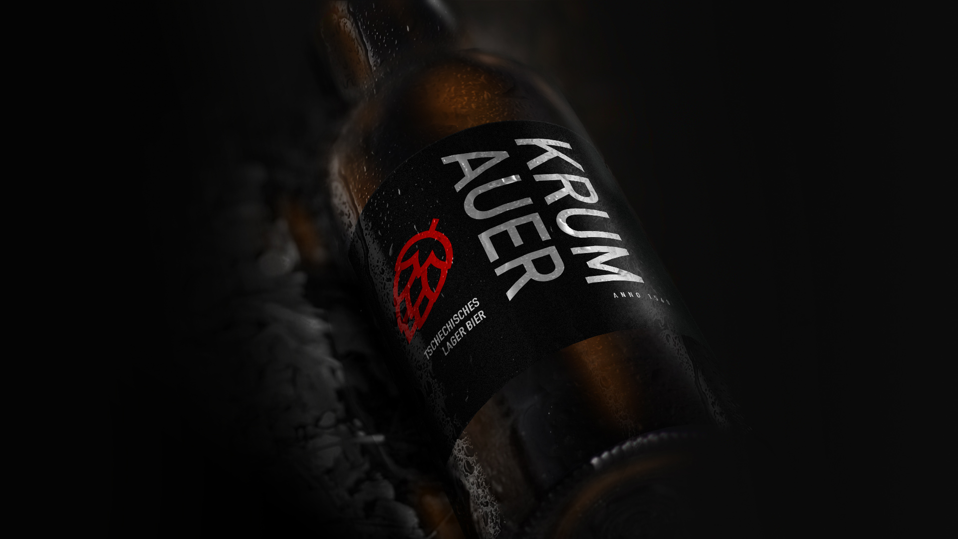 Branding Krumauer Bier
