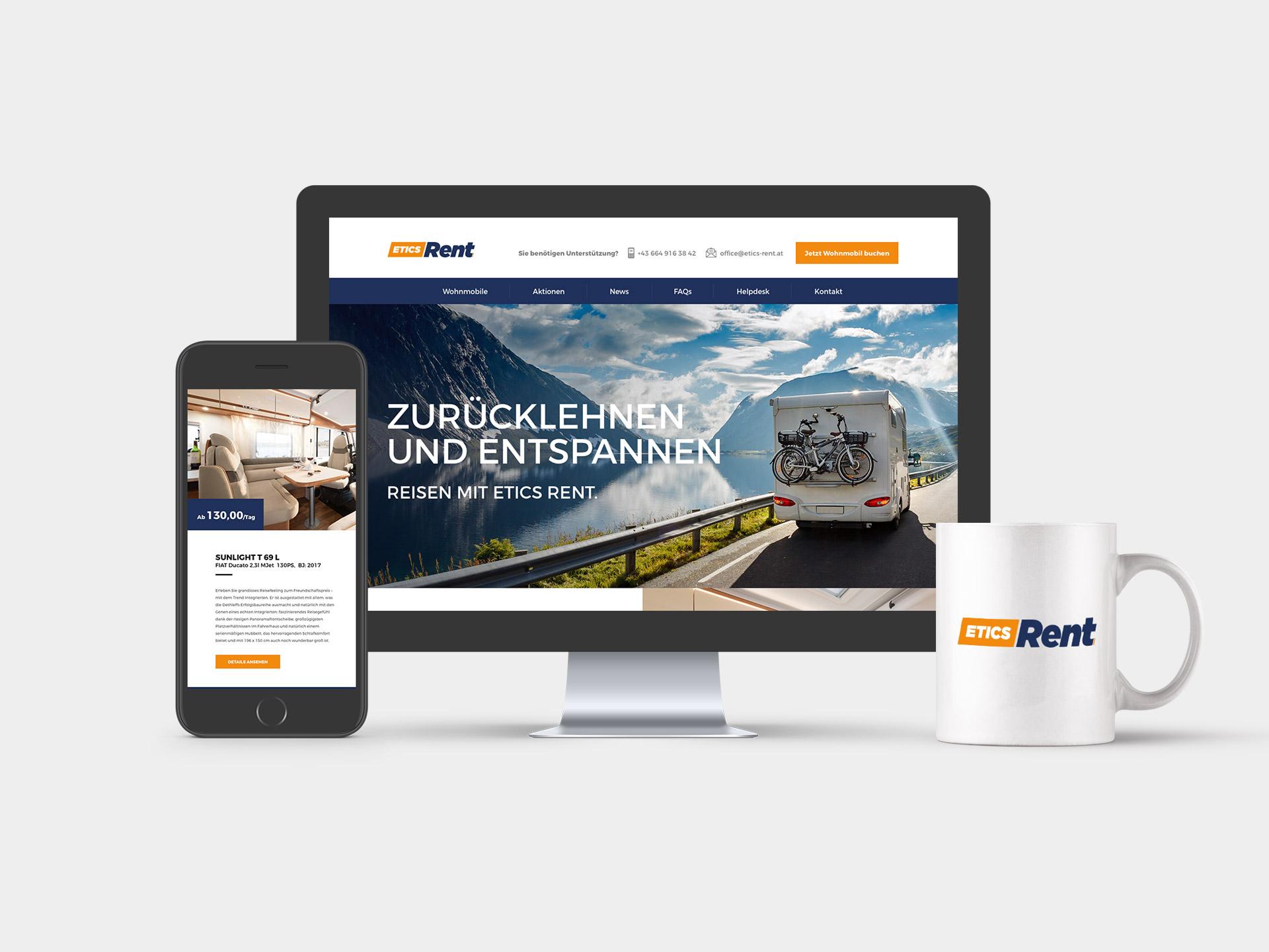Etics Rent Website